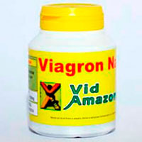 Viagron Natural com 60 cápsulas 500mg