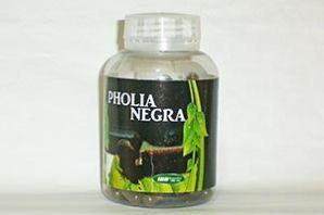 Pholia Negra com 100 cápsulas 500mg