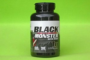Tribulus Terrestris - Black Monster - com Maca - 1000 mg - 90 caps